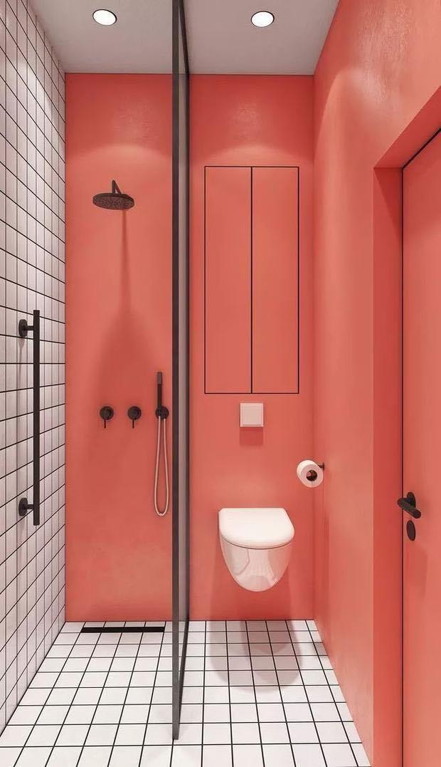 If you want a orange bathroom, get orange