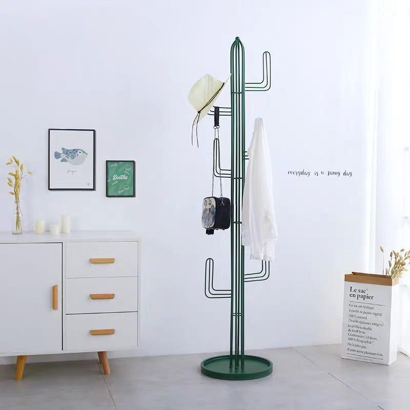 Cactus Coat Rack Metal Stand