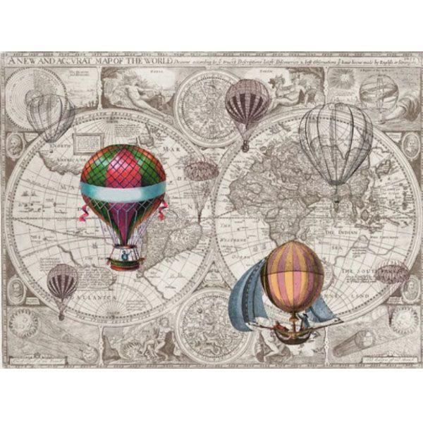 Hot Air Balloon Shower Curtain From Apollo Box