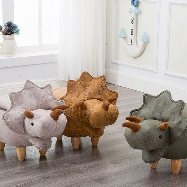 Dinosaur Storage Stool