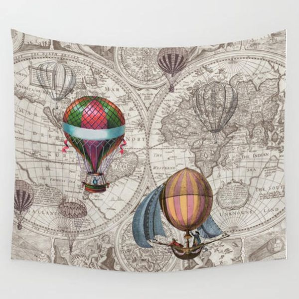 Diy World Map Tapestry