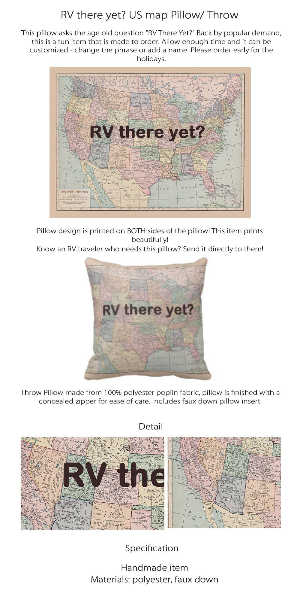 RV Throw Pillow - ApolloBox