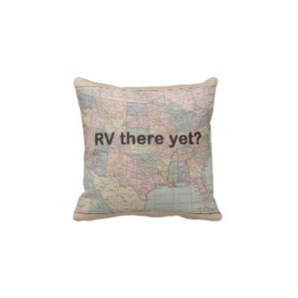 RV Throw Pillow
