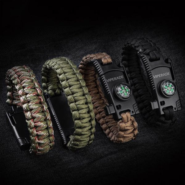 Viperade Paracord Compass Bracelet