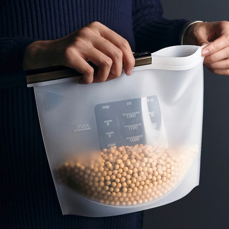Reusable Silicone Food Storage Bag Apollobox