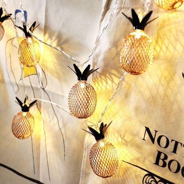 Pineapple LED String Lights