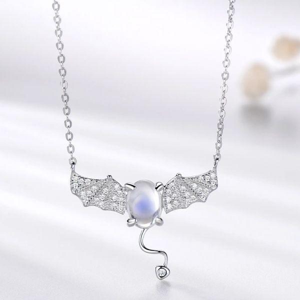 Adorable Devil Moonstone Necklace