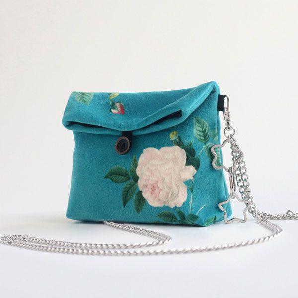 Florals Messenger Bag