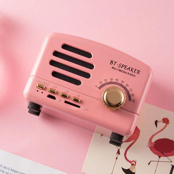 Mini Vintage Radio Bluetooth Speaker