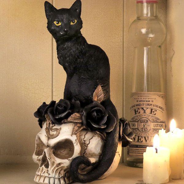 Grimalkin's Ghost Desk Ornament