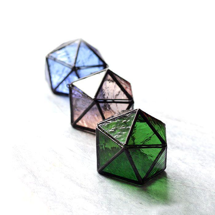 Mini Stained Glass Terrarium Apollobox