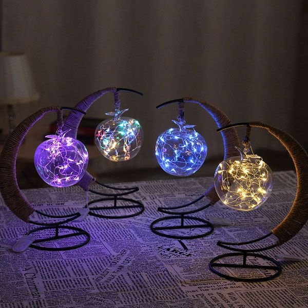Product Image For Crescent Moon Fairy Light Lantern