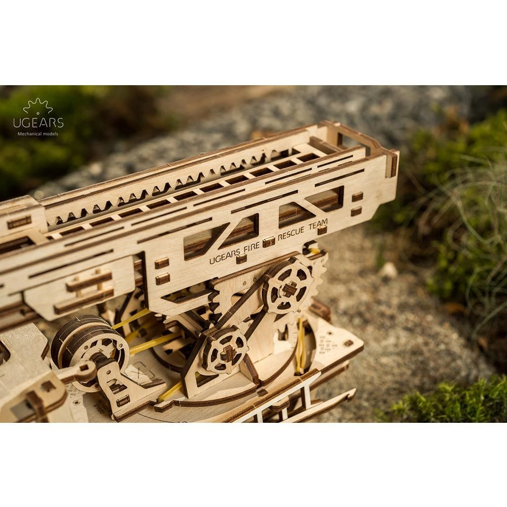 UGEARS Wood Fire Truck from Apollo Box