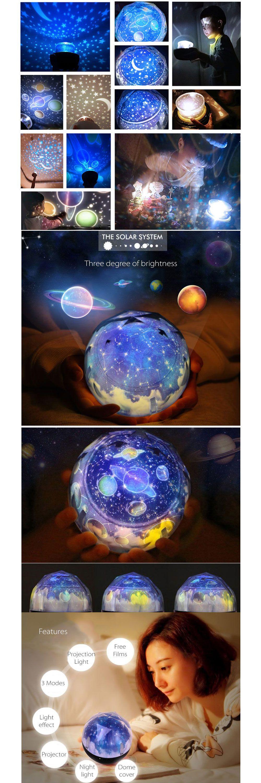 Cosmos Night Light/Projector from Apollo Box