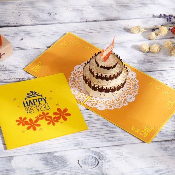 Peachy Birthday Cake Pop Up Card Apollobox Personalised Birthday Cards Paralily Jamesorg