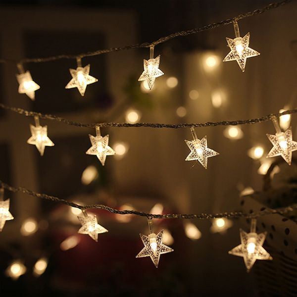 Product Thumbnail Image For Stars Led String Lights
