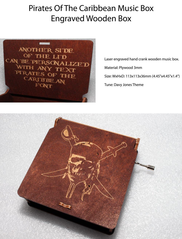 Pirates of the Caribbean Music Box from Apollo Box