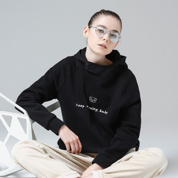 TOYOUTH Women Pullover Hoodie