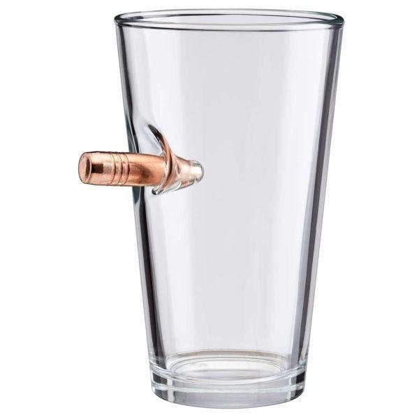 Bulletproof Pint Glass