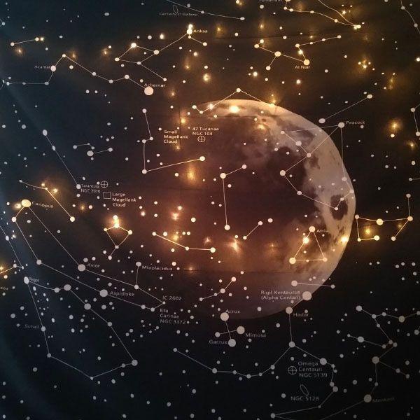Moon Constellations Tapestry Apollobox