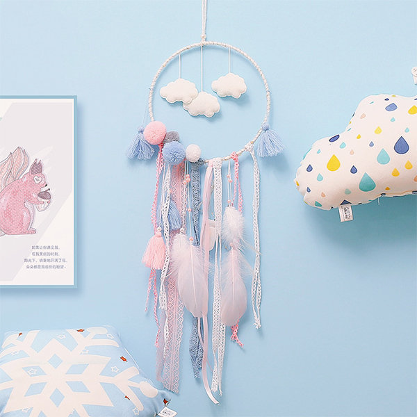 DIY Cloud Dream Catcher