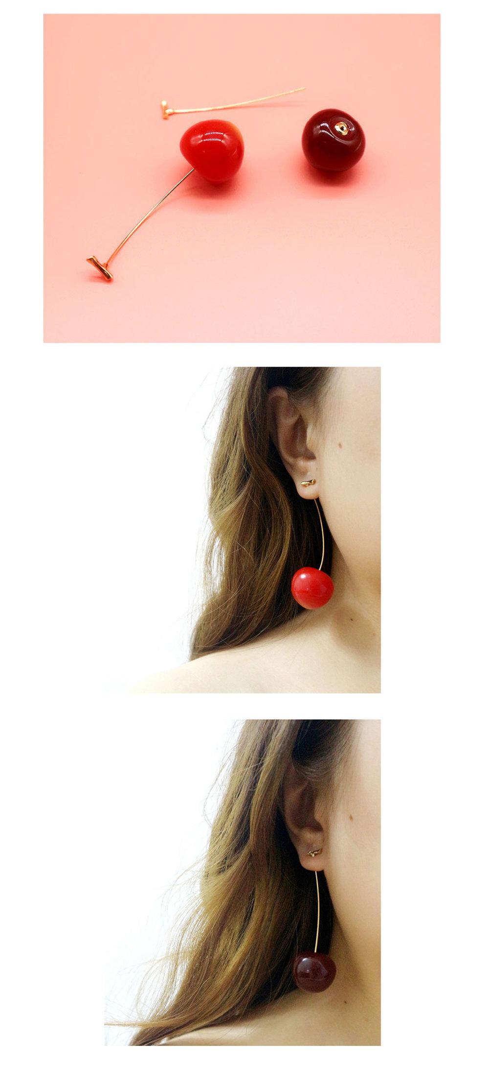 5c750d4dd8724 Retro Cherry Dangles from Apollo Box