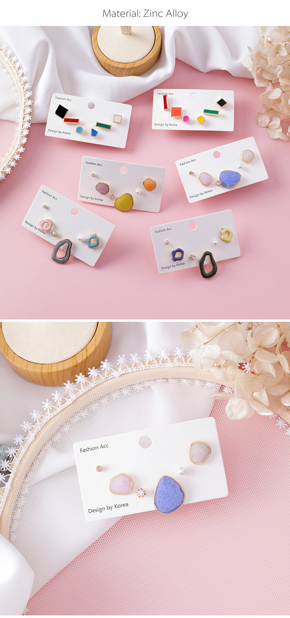 Candy Colored Mismatched Earrings from Apollo Box