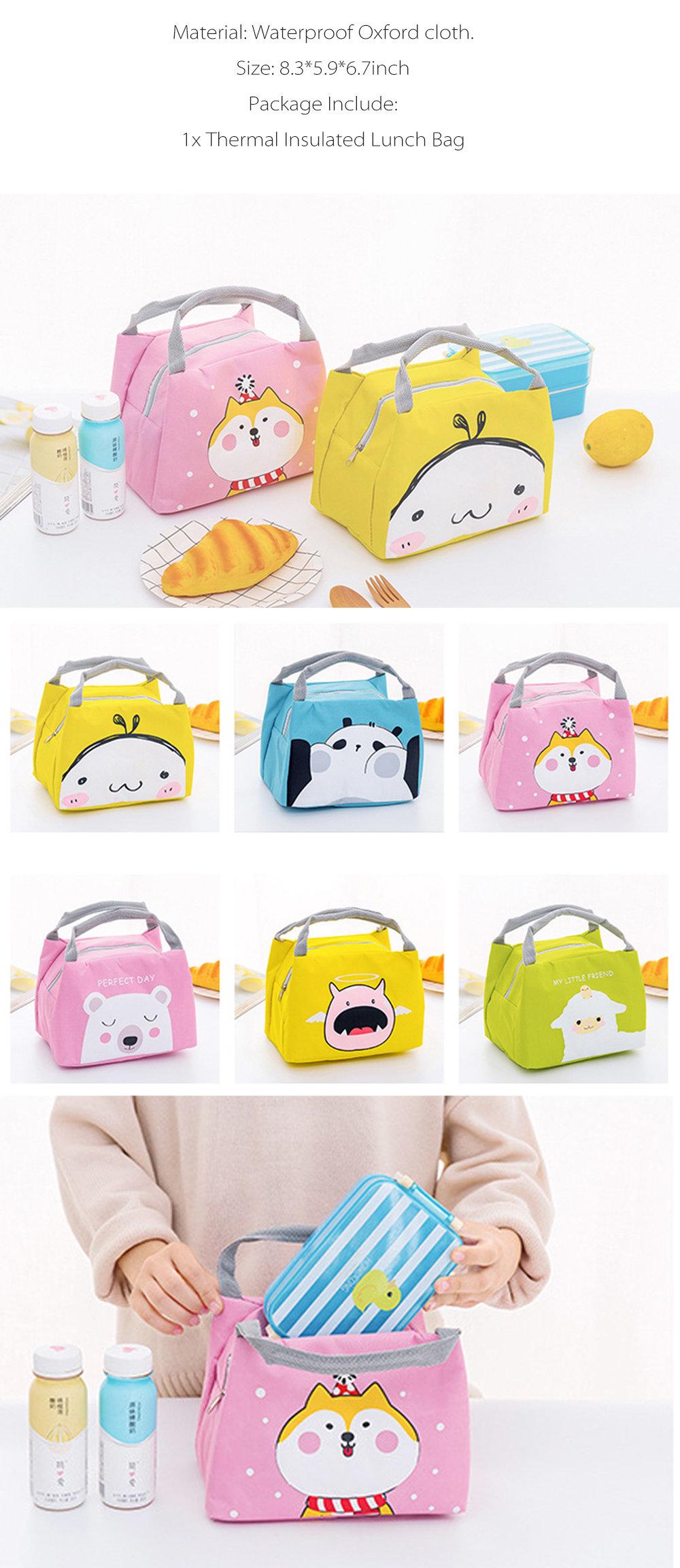 Cute Cartoon Lunch Bag from Apollo Box