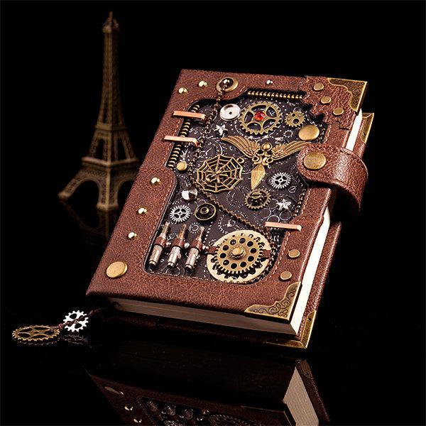 Steampunk Journal & Pen Set