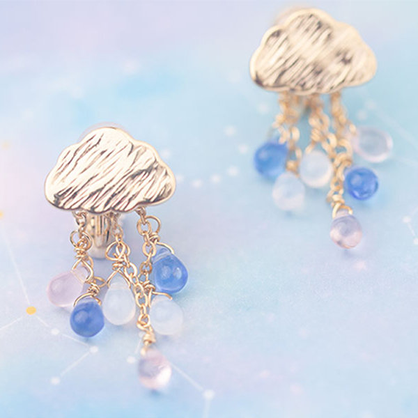 Cloud & Raindrops Earrings