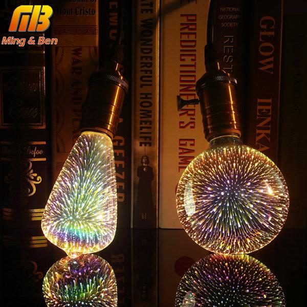 3D烟花装饰灯