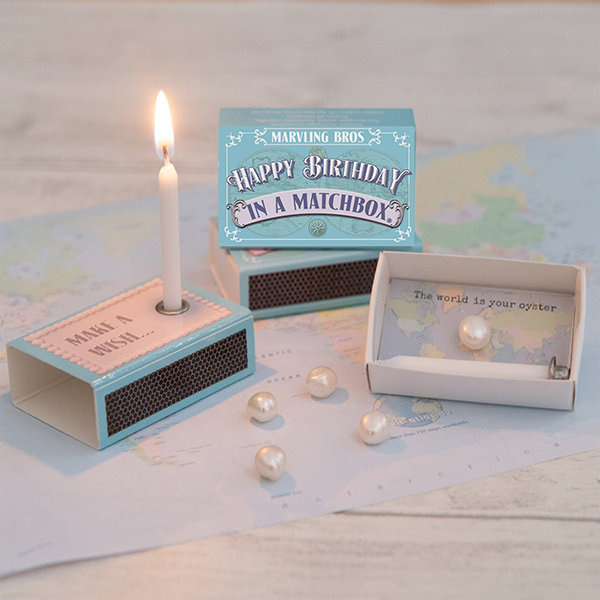Happy Birthday In A Matchbox J...
