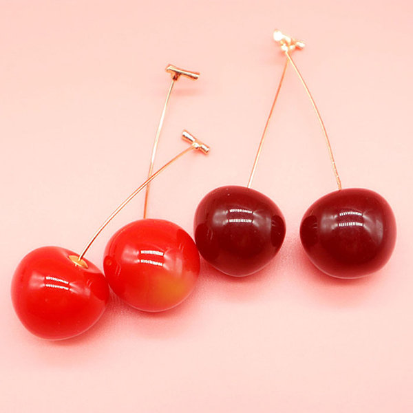 Retro Cherry Dangles