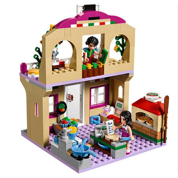 Pizza Restaurant Building Blocks