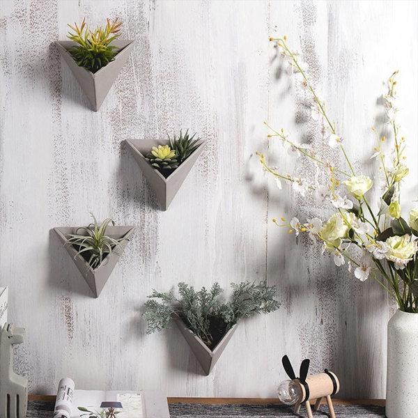 3D Cement Wall Planter