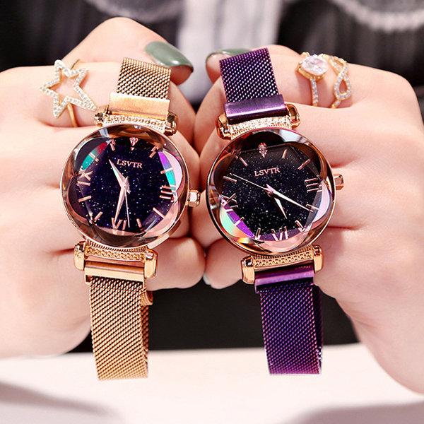 Luxury Crystal Starry Watch