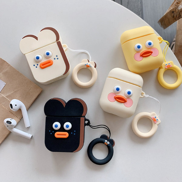 Cartoon Face Airpod Case Apollobox