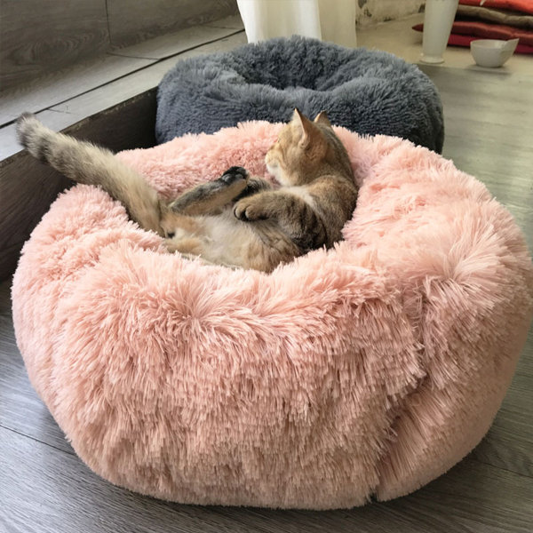 Long Plush Pet Bed