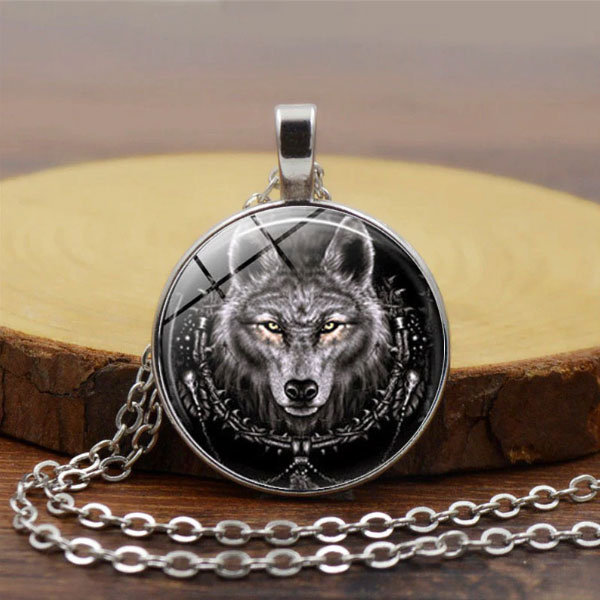 Powerful Wolf Pendant