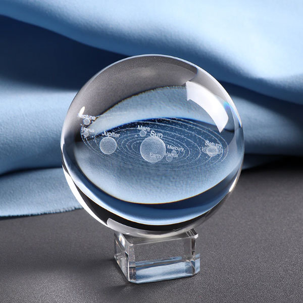 3D Solar Crystal Ball
