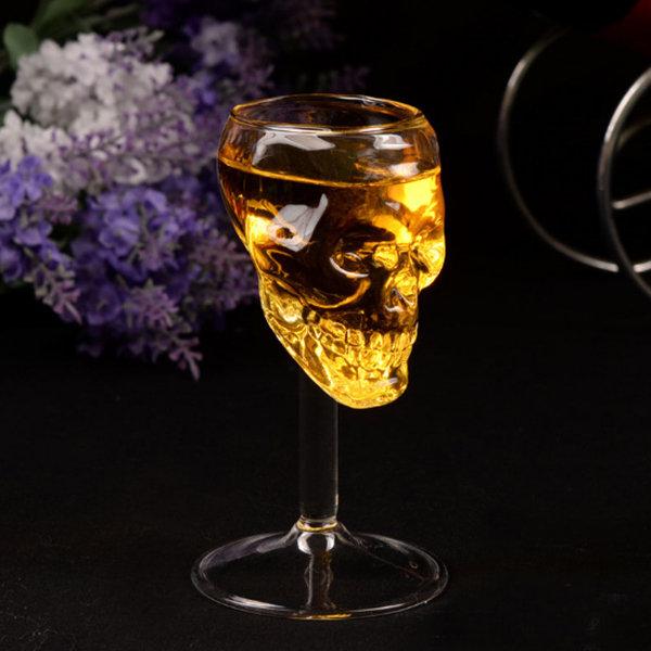 Unique Skull Wine Glass