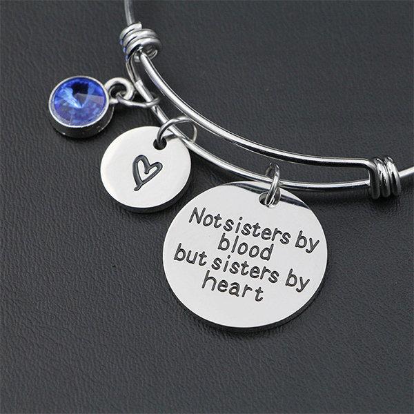 Birthstone Bangle Bracelet