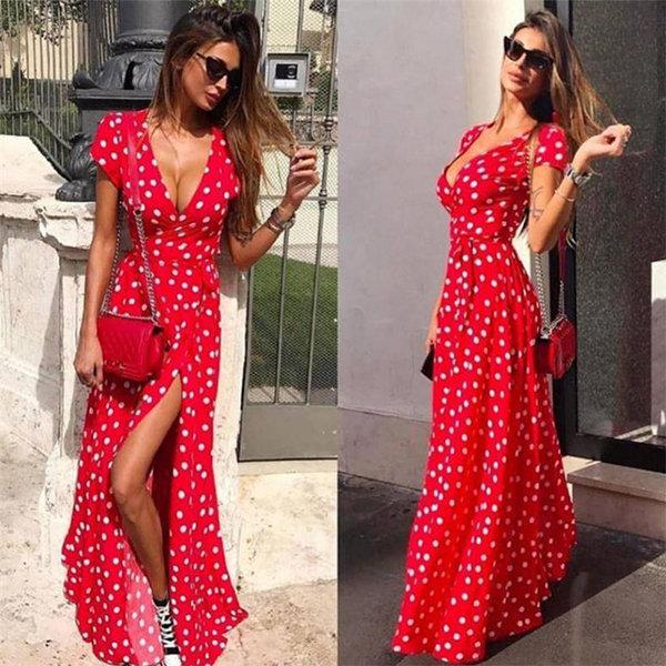 1c3e56250d5 ... product thumbnail image for Dot Wrap Summer Dress ...