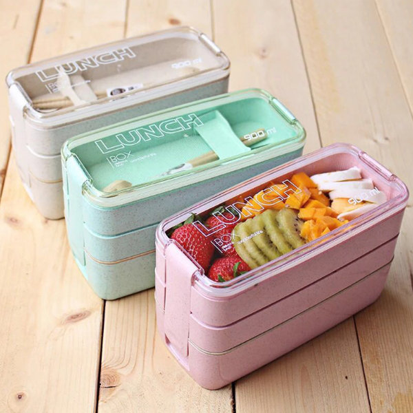 3-Layer Bento Box