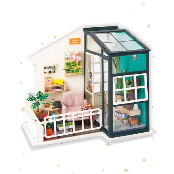 Diy Miniature House Model From Apollo Box