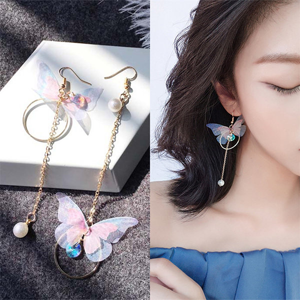 Korean Asymmetric Earrings