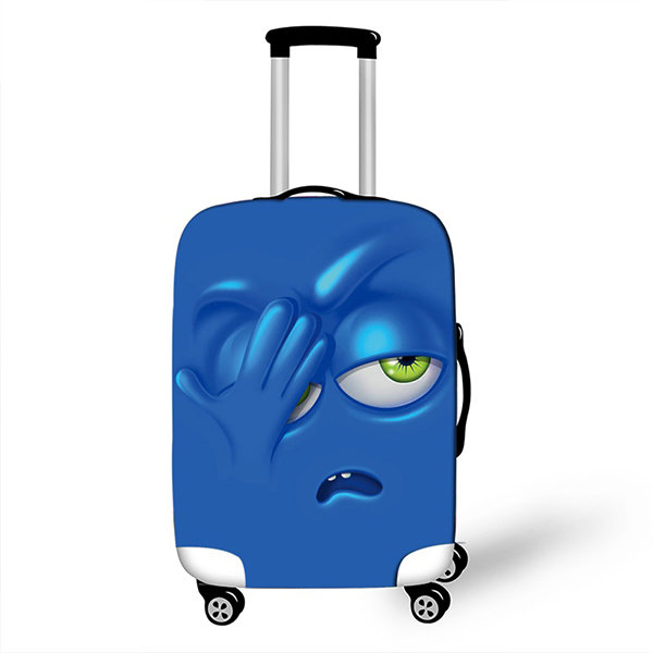 9cd92bac25920 ... product thumbnail image for Cartoon Face Luggage Cover ...