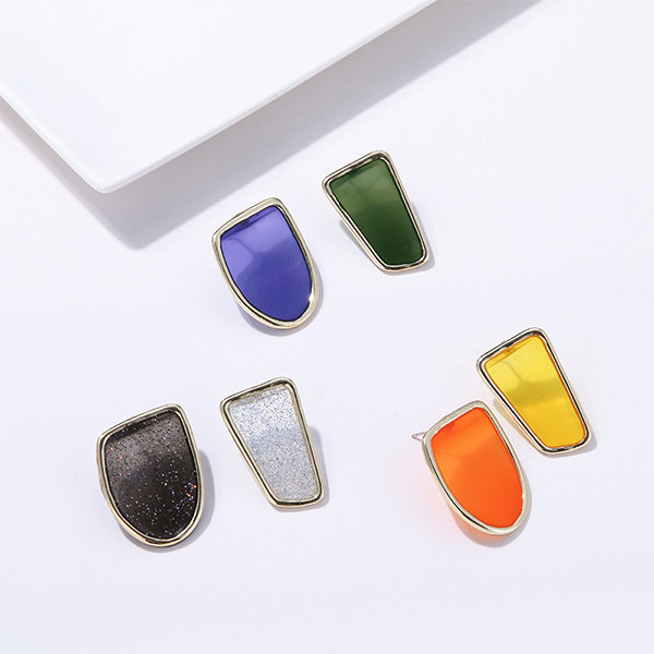 1c7b4b4f1ee34 ... product thumbnail image for Candy Colored Geometric Stud Earrings ...