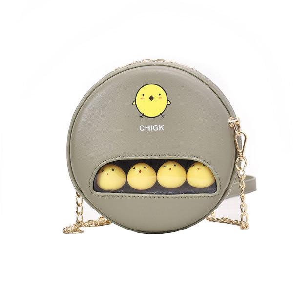 Mini Cute Round Crossbody Bag Apollobox