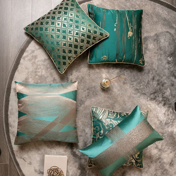 Throw Pillow Covers.Green Throw Pillow Cover From Apollo Box
